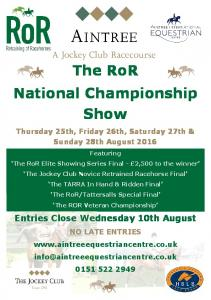 The RoR National Championship Show