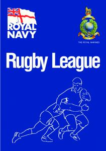 THE ROYAL MARINES. Rugby League