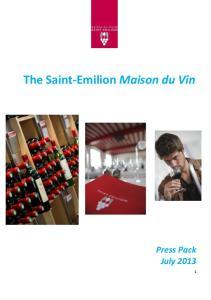 The Saint-Emilion Maison du Vin