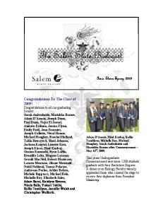 The Salem State Biologist