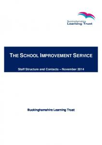 THE SCHOOL IMPROVEMENT SERVICE