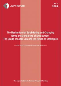 The Scope of Labor Law and the Notion of Employees