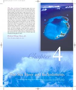 The Sea Floor and Its Sediments