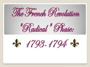 The Second French Revolution