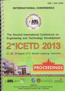 The Second International Conference On Engineering And Technology Development