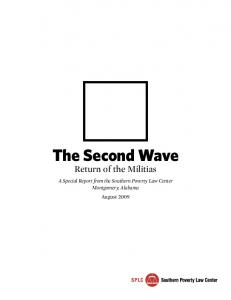 The Second Wave Return of the Militias