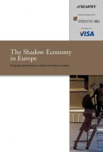 The Shadow Economy in Europe