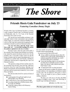 The Shore Friends Hosts Gala Fundraiser on July 23
