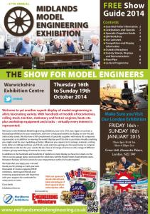 THE SHOW FOR MODEL ENGINEERS