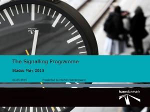 The Signalling Programme