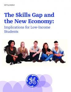 The Skills Gap and the New Economy: