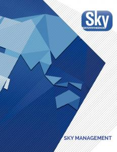THE SKY IS THE LIMIT with Sky Management