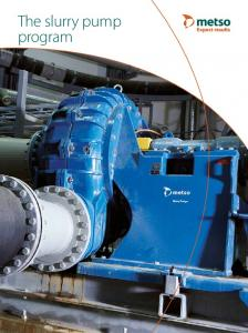 The slurry pump program