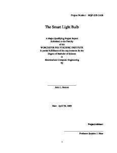 The Smart Light Bulb