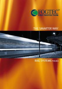 THE SMARTER WAY RAIL SYSTEMS POLSKA