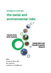the social and environmental risks