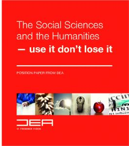 The Social Sciences and the Humanities