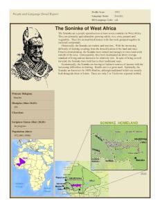 The Soninke of West Africa