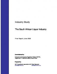 The South African Liquor Industry