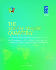 THE SOUTH-SOUTH QUARTERLY