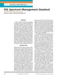 the Spectrum Management Standard