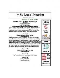 The St. Louis Unitarian