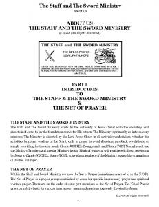 The Staff and The Sword Ministry