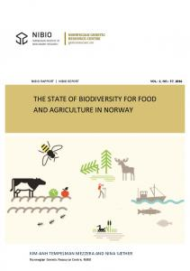 THE STATE OF BIODIVERSITY FOR FOOD AND AGRICULTURE IN NORWAY