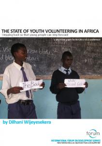 THE STATE OF YOUTH VOLUNTEERING IN AFRICA