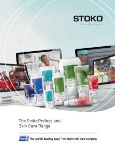 The Stoko Professional Skin Care Range