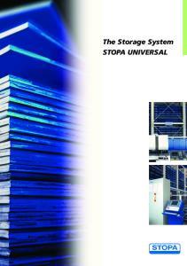 The Storage System STOPA UNIVERSAL