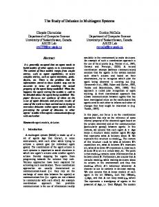 The Study of Delusion in Multiagent Systems