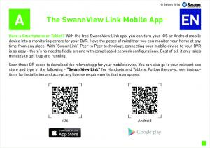 The SwannView Link Mobile App