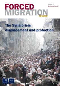 The Syria crisis, displacement and protection
