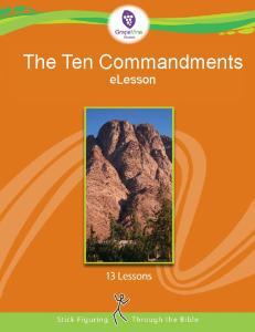 The Ten Commandments elesson
