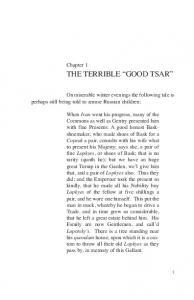 THE TERRIBLE GOOD TSAR