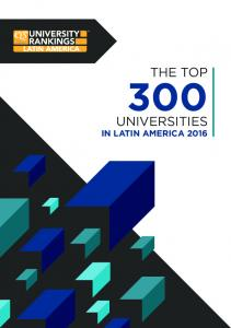 THE TOP UNIVERSITIES IN LATIN AMERICA 2016
