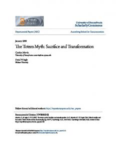 The Totem Myth: Sacrifice and Transformation