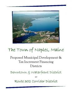 The Town of Naples, Maine