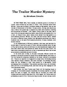 The Trailor Murder Mystery