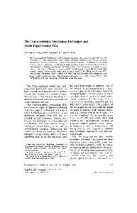 The Transcendental Meditation technique. Acute Experimental Pain