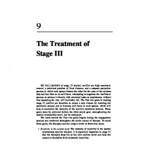 The Treatment of Stage III