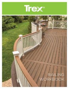 The Trex Railing Lineup