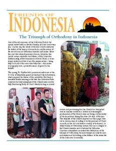 The Triumph of Orthodoxy in Indonesia
