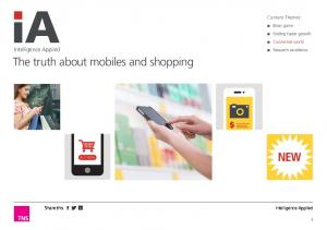 The truth about mobiles and shopping