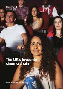 The UK s favourite cinema chain