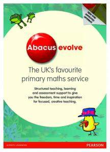 The UK s favourite primary maths service