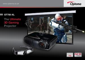 The Ultimate 3D Gaming Projector