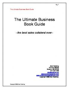 The Ultimate Business Book Guide