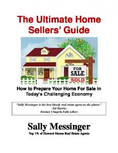 The Ultimate Home Sellers Guide